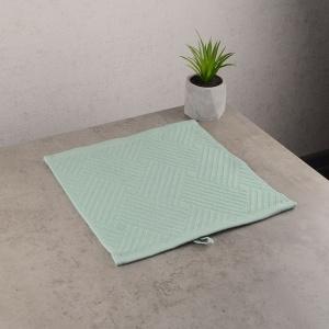 Махровая жаккардовая салфетка с петелькой GM Textile 30х30см 400г/м2 (Мятный)