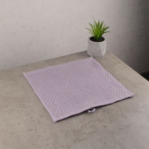 Махровая жаккардовая салфетка с петелькой GM Textile 30х30см 400г/м2 (Серо-бежевый)