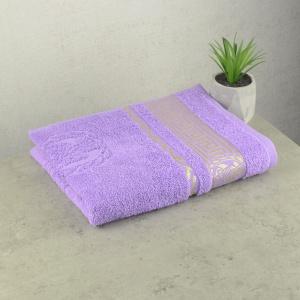 Махровое полотенце  для лица GM Textile 50х90см Caesar 450г/м2 (Лавандовый)