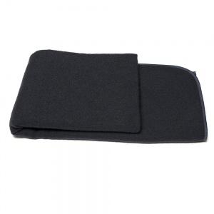 Плед-покрывало шерстяной 140х200см 400г/м2 4P-18-black (Черный)