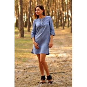 Cтильное короткое платье в стиле casual