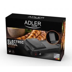 Электрогриль прижимной Adler AD 6608
