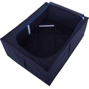 Кофр для хранения вещей со съемной перегородкой KHV-2-V-jeans (Синий)