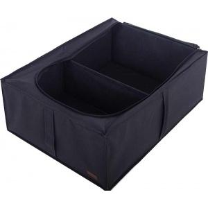 Кофр для хранения вещей со съемной перегородкой KHV-2-V-black (Черный)