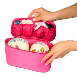 Дорожная сумка-органайзер для белья C001-rose (Розовый)