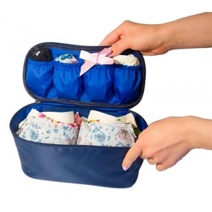 Органайзер для путешествий для белья C001-siniy (Синий)