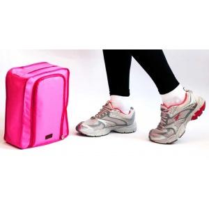 Органайзер для обуви в путешествие C018-rose (Розовый)