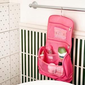 Дорожный несессер\органайзер для косметики C025-pink (розовый)