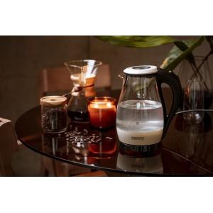 Чайник Camry CR 1251 white glass