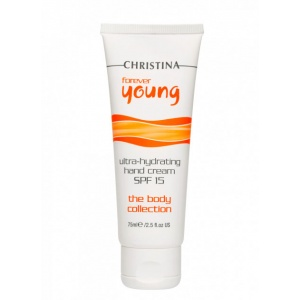 Крем для рук Christina Professional Forever Young Hand Cream SPF-15 Форевер янг Крем для рук SPF 15 75 мл