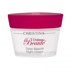 Интенсивный обновляющий ночной крем Christina Chateau De Beaute Deep Beaute Night Cream 50 мл
