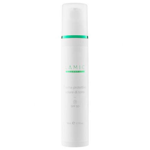 Солнцезащитный тональный крем Lamic Cosmetici Creama Protettivo Solare di Tono SPF 50 50 мл