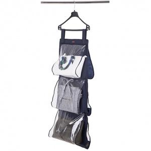 Подвесной органайзер для хранения сумок L (Синий)