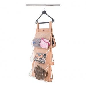 Подвесной органайзер для хранения сумок S HBag-S-brown (Бежевый)