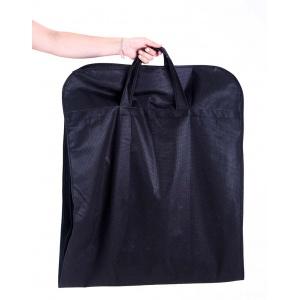 Чехол для верхней одежды с ручками 60*150*15 см HCh-150-15-black ( Черный)