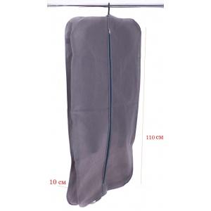 Кофр для одежды с ручками 110х60х10 см HCh-110-10-grey (Серый)