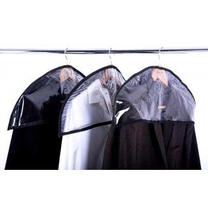 Комплект накидок-чехлов для одежды 3 шт HN-3-black (Черный)