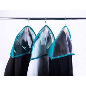 Комплект накидок-чехлов для одежды 3 шт HN-3-lazur (Лазурь)