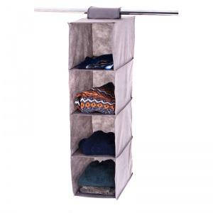 Подвесная полка-органайзер в шкаф для вещей M HP-M-grey (Cерый)