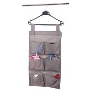 Подвесной органайзер с карманами 6 ячеек HPocket-grey (Серый)