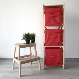 Короб с крышкой для хранения вещей HY-Kr-red (Красный)