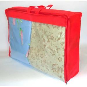 Сумка для хранения вещей\сумка для одеяла M HS-M-red (Красный)