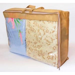 Сумка для хранения вещей\сумка для одеяла S HS-S-beige (Бежевый)