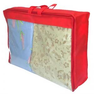 Кофр для хранения вещей\сумка для одеяла L HS-L-red (Красный)
