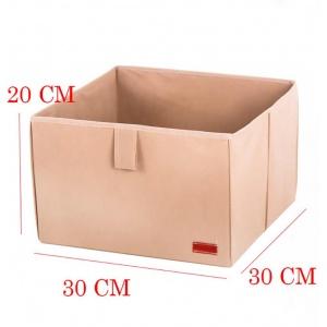 Ящик-органайзер в шкаф для хранения вещей L HY-L-beige (Бежевый)
