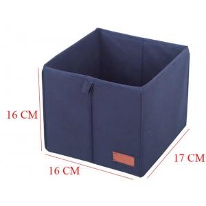 Комплект коробок для хранения вещей в шкафу KHY-blue (Синий)