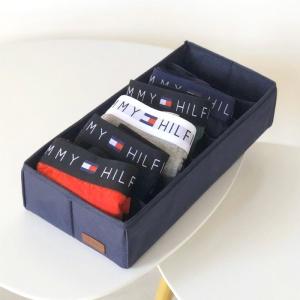 Коробочка для хранения носочков, колгот, ремней Jns-Nsk (Синий)