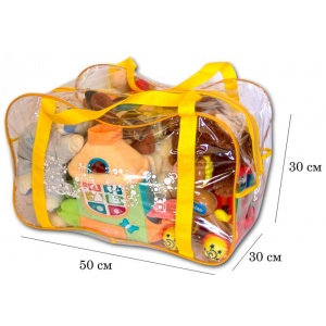 Сумка в роддом/для игрушек K005-yellow (Желтый)
