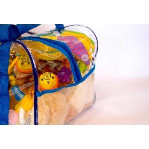 Компактная сумка в роддом для игрушек K005-blue Синий