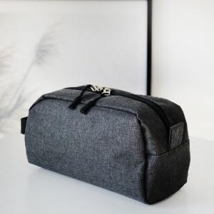 Мужская дорожная косметичка\органайзер для путешествий K011-grey (Серый)