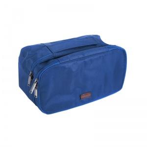 Двухуровневый дорожный органайзер K015-blue (синий)