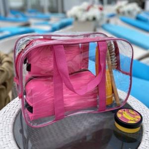 Набор для пляжа - сумка и две косметички KBeach-pink (Розовый)