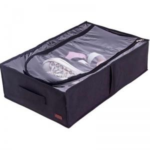 Бокс для хранения на 4 отделения KHV-3-black (Черный)