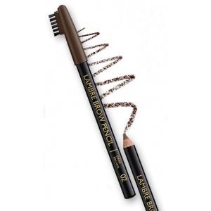 Карандаш для бровей LAMBRE BROW PENCIL №03 Чёрно-коричневый темно-коричневый