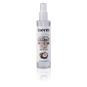 Масло-спрей для тела разглаживающее Inecto Naturals Coconut Body Oil 200 ml