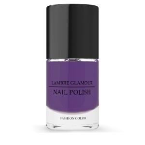 Лак для ногтей LAMBRE GLAMOUR NAIL POLISH №08 Лиловый 10 ml