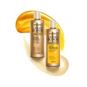 Кондиционер для волос усиливающий цвет волос PRO:VOKE  Liquid Blonde Gloss Intensifying Conditioner 200 ml