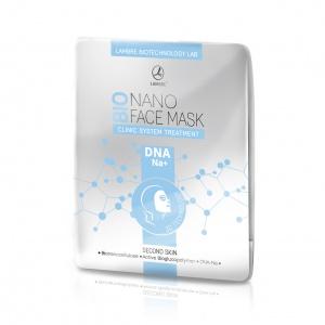 Маска бионаноцеллюлозная для лица DNA NA+ с активатором ACTIVE BIOGLUCOPOLYMER®