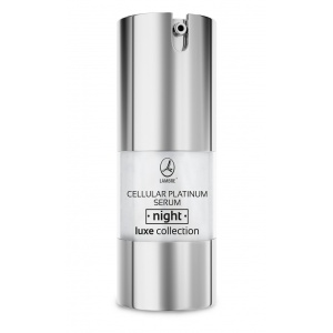 Активная ночная сыворотка с микрочастицами платины Cellular Platinum Serum Night LUXE Collection 20мл