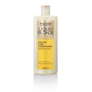 Кондиционер для волос c формулой защиты цвета и кератином PRO:VOKE Liquid Blonde Colour Care Conditioner 400ml