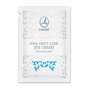ТЕСТЕР Крем разглаживающий для кожи вокруг глаз с экстрактом черной икры DNA-Shot Line 2мл