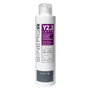 Крем для гладкости непослушных волос + термозащита Sinergy Y2.3 LATTE