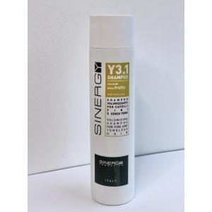 Об'ємний шампунь для ламкого і жирного волосся Sinergy, 250мл