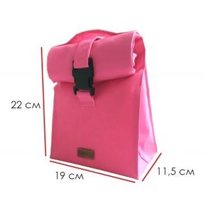 Термосумка для обеда с двумя судочками в комплекте по 0.3 и 0.7 л LBag-Pink (Розовый)