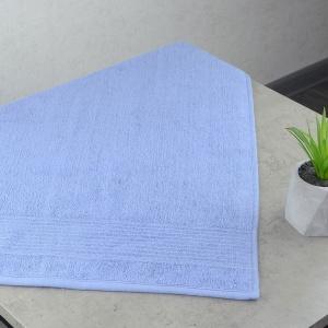 Махровое полотенце  для лица GM Textile 50х90см Line 450г/м2 (Светло-синий)