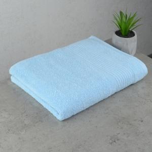 Махровое полотенце  для лица GM Textile 50х90см Line 450г/м2 (Светло-голубой)
